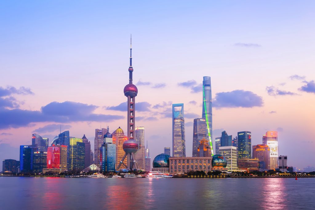 Image of Shanghai in the morning