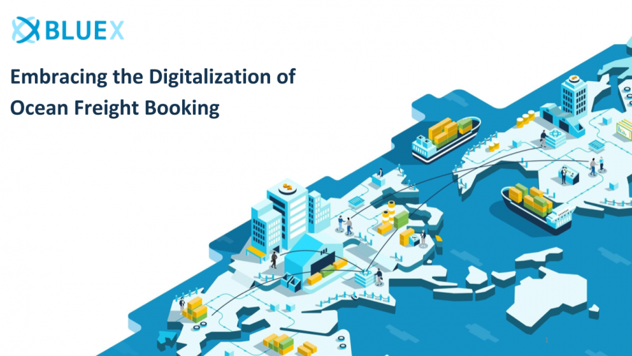 Embracing the Digitalization of  Ocean Freight Booking