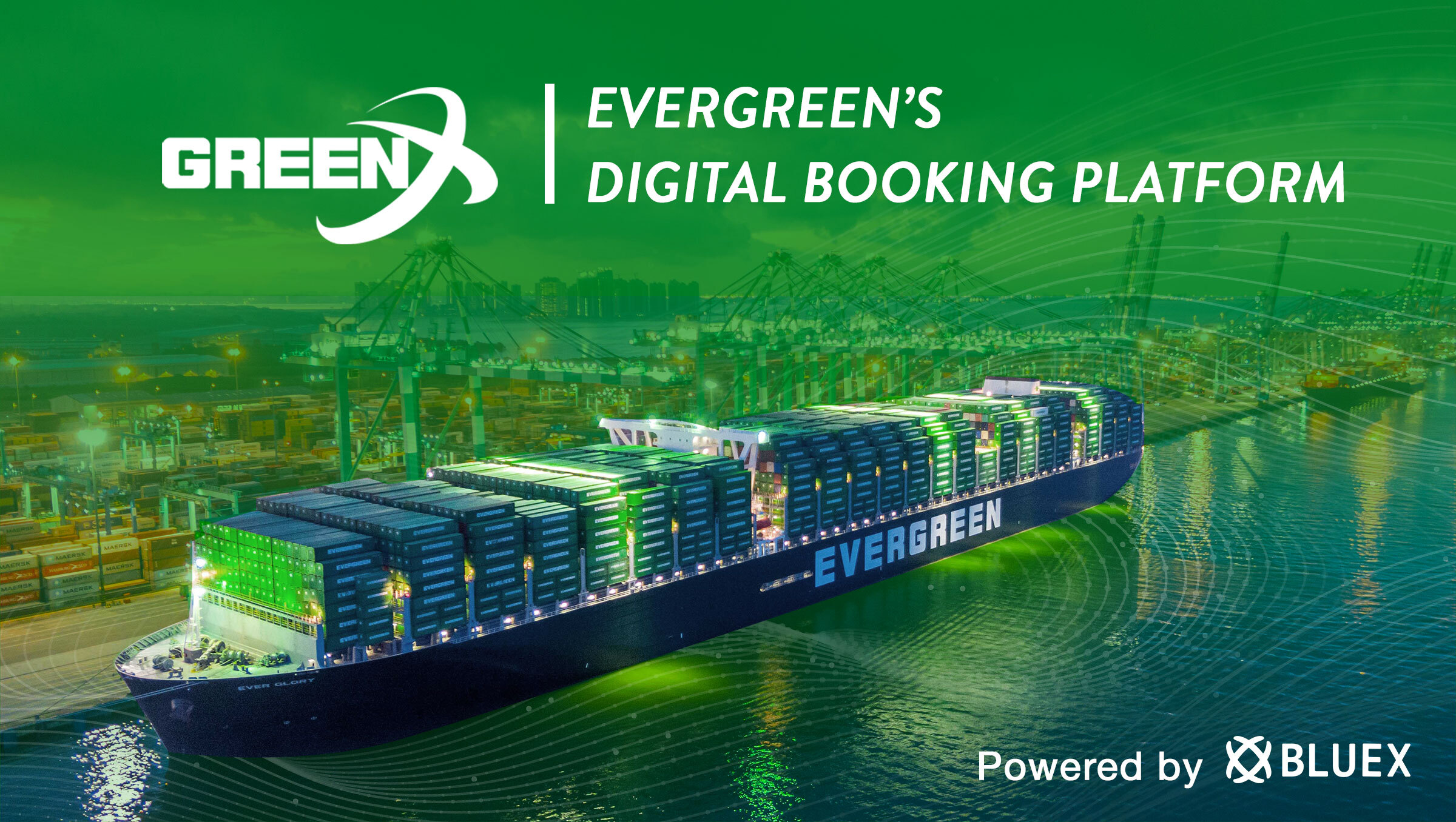 Evergreen and BlueX's Integrated Logistics Platform – GreenX – Receives Over 1000 Sign-ups at Launch